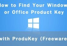 Photo of ProduKey : Utility to find Product Key