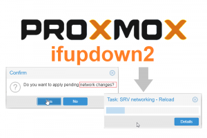 You need ifupdown2 to reload network configuration (500)