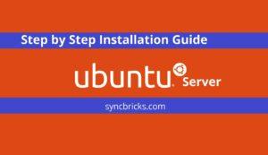 ubuntu server installation guide
